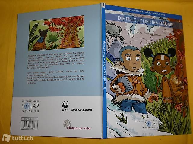 Die Flucht der IBA Bäume, Comics