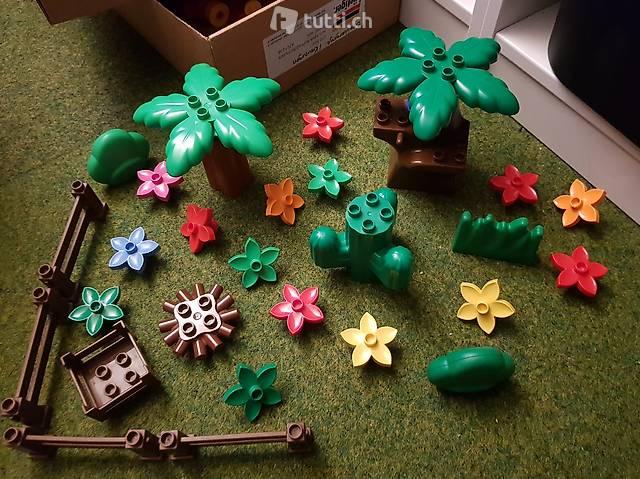Lego Duplo Bäume Pflanzen Blumen Sträucher, 30-teilig