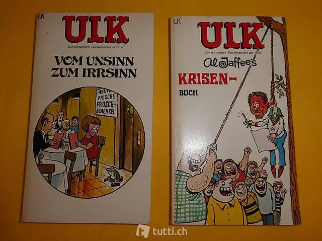 ULK - die seltsamsten Taschenbücher der Welt