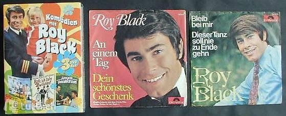 ROY BLACK Sammlung mit 3 DVD + 2 Schallplatten