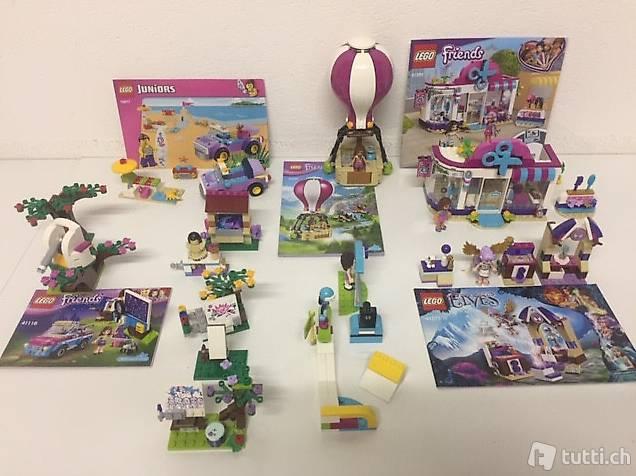 Lego Friends Set Mixpaket mit Bauanleitungen, gemäss Bildern