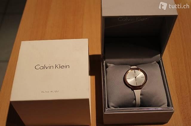 Calvin Klein Uhr für Damen, im OVP, wie neu!