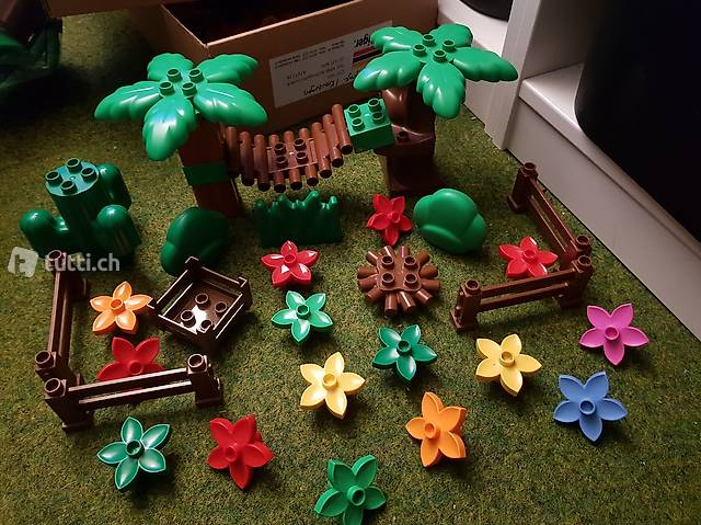 Lego Duplo Bäume Pflanzen Blumen, 33-teilig