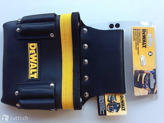 Neue praktische De Walt Umhänge Werkzeugtasche