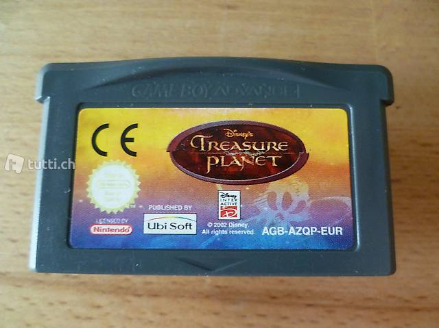 Disney's Treasure Planet - Nintendo Game Boy Advance