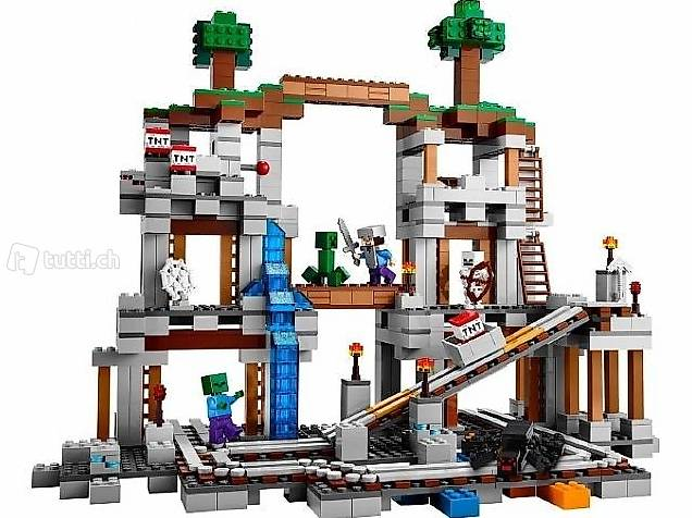 Lego OVP Minecraft 21118 The Mine, Die Mine