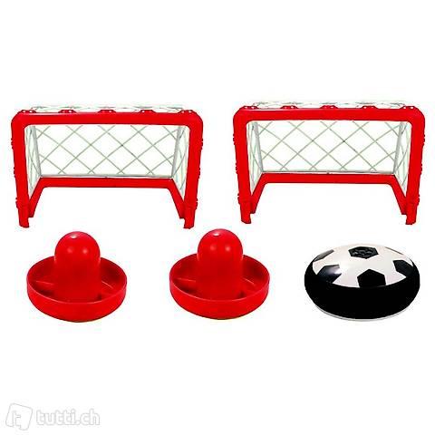 Air Hockey Fünfteiliges Airhockey-Set Innenbereich