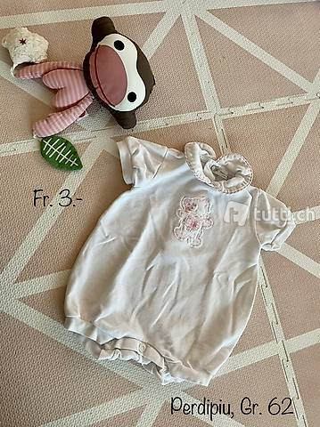 Schöner Baby Sommerstrampler von Perdipiu Gr. 62