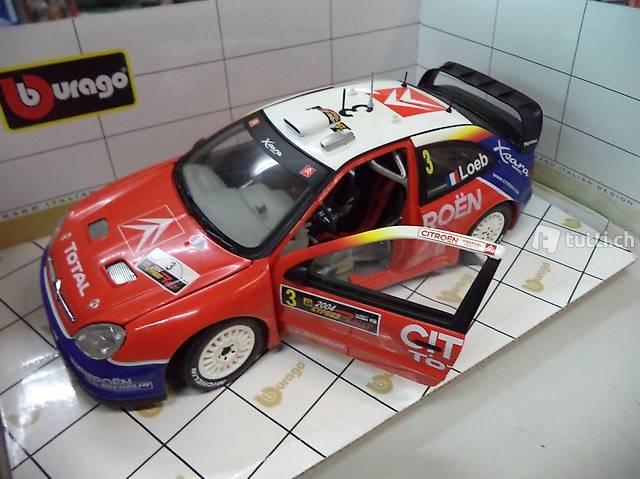 burago CITROEN XSARA WRC 1:18