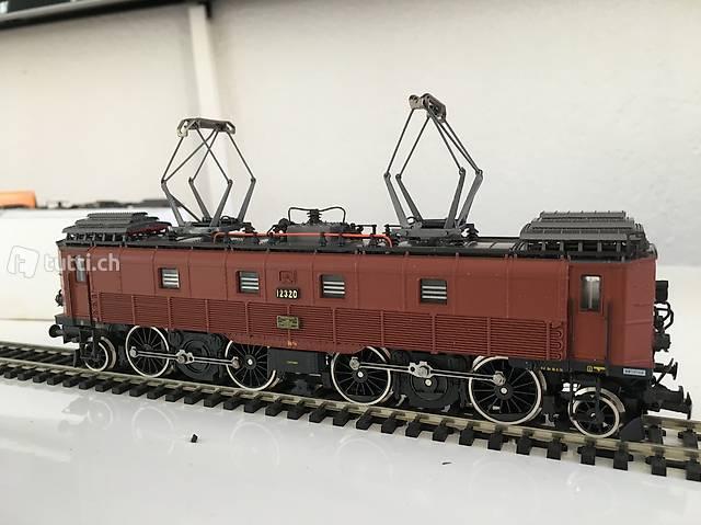 Roco BE 4/6 SBB Lokomotive Braun - Nr. 04191 B OVP NEU