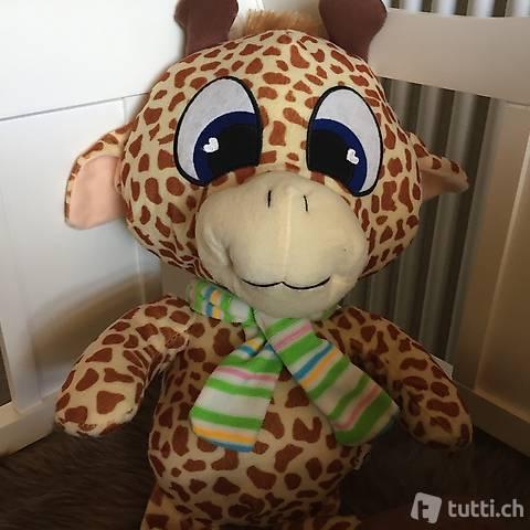 Neuer Plüsch Giraffe aus Fleece-Stoff