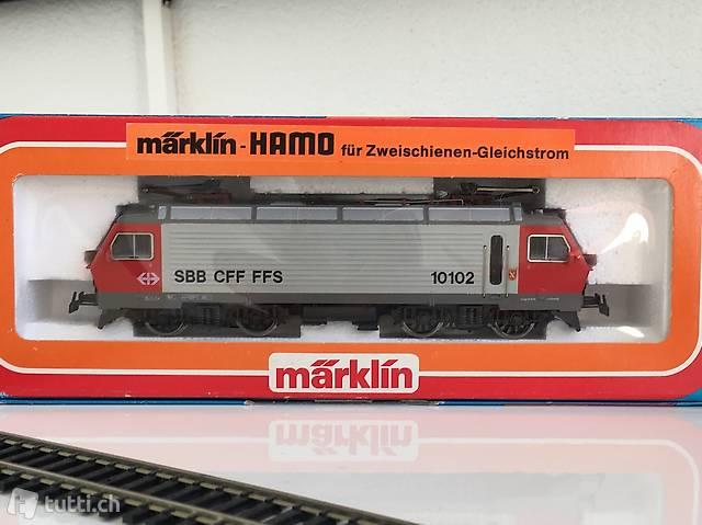 MÄRKLIN/HAMO SBB Nr. 8323 DC-Analog OVP unbespielt NEU