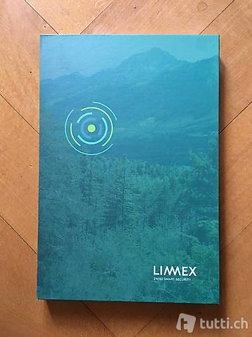 Limmex Notruf-Uhr, weiss, wie neu
