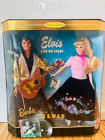 Vintage Barbie - Barbie loves Elvis 1996