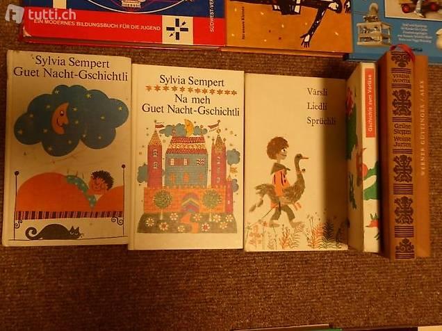 Dialektbücher Värsli und Guet Nacht Gschichte (auch einzeln)