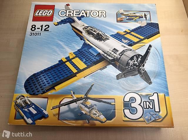 Lego 31011 Creator Propellermaschine 3in1 ab 8 J. Aviation