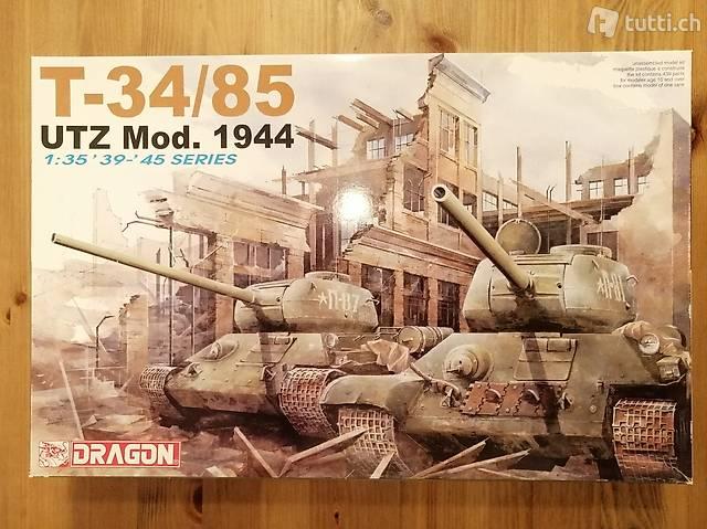 1:35 Dragon 6203 - T-34/85 UTZ Mod. 1944 - Modellbau/Panzer