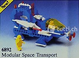 Lego Space 6892 Modular Space Transport