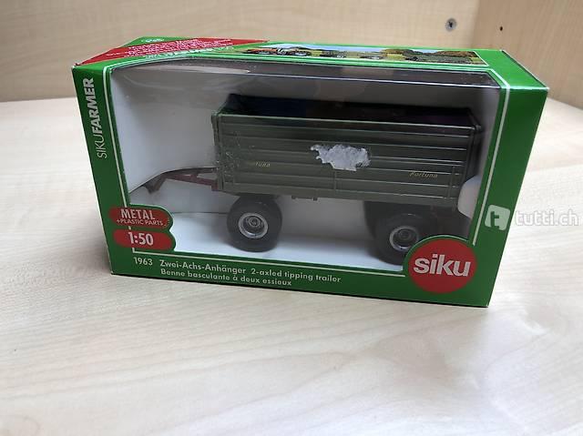 Siku Farmer Modell 1:50 Zwei-Achs-Anhänger 1963 neu OVP