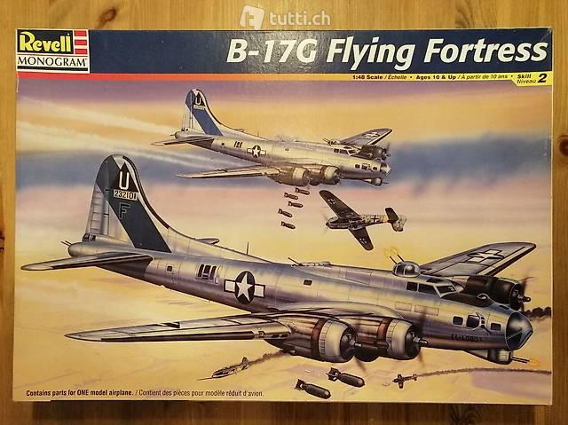 1:48 Revell 85-5600 - B-17G Flying Fortress - Modellbau