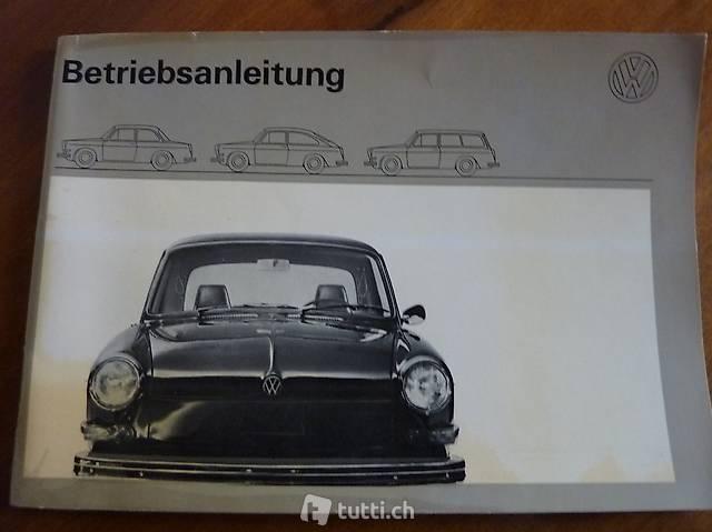 VW 1600 Betriebsanleitung