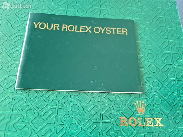 Your Rolex Oyster Booklet Jahrgang 05.  2002