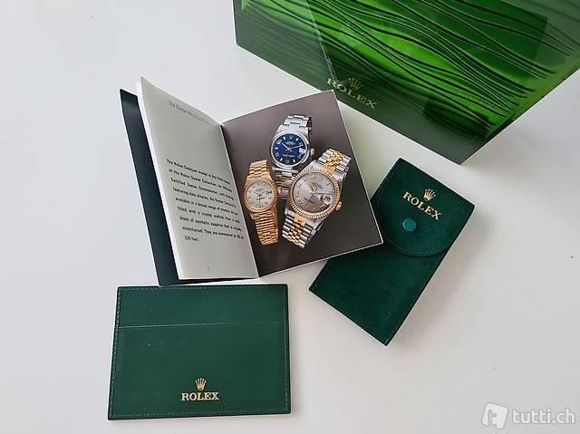 Rolex Datejust Oyster Perpetual Zubehör Set 01.2002