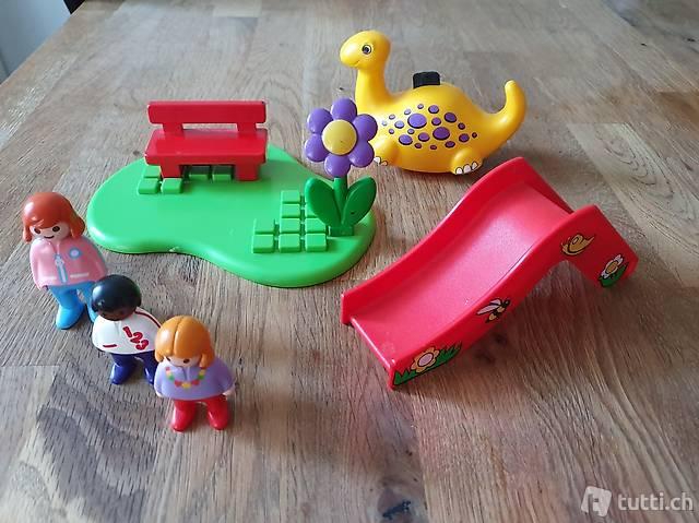Playmobil 1 2 3   Kinderspielplatz *komplett!*