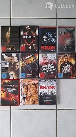 DVD (Saw, Hostel, Bollywood etc.)