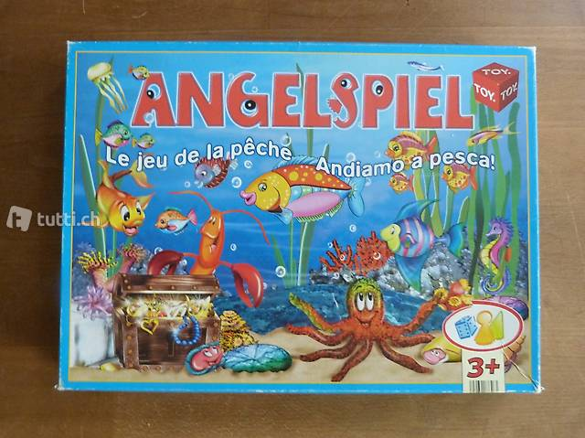 Angelspiel für Kinder ab 3 Jahren