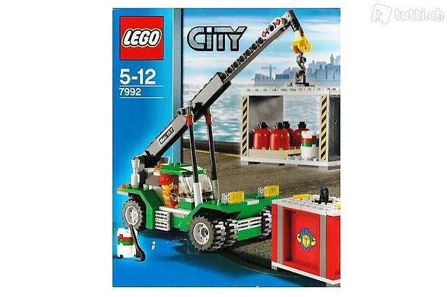 LEGO City 7992 - Containerstapler