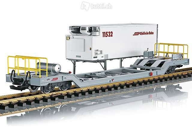 LGB Art. 45926 RhB Containerwagens der Bauart Sb-t
