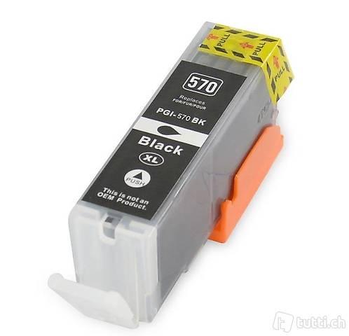 Kompatibel Canon Pixma TS 6052 Tintenpatrone schwarz