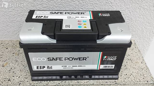 Autobatterie Starterbatterie, 100Ah, neu