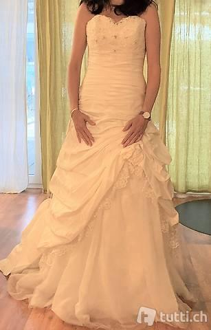 Brautkleid Hochzeitskleid Grösse 38