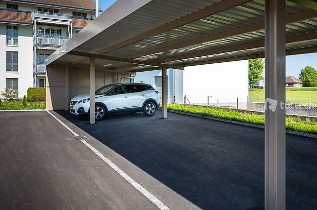 Carport Parkplätze auch für Wohnmobile oder Wohnwagen