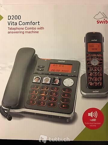 Switel D200 Vita Comfort (SeniorenTelefon, ungebraucht)