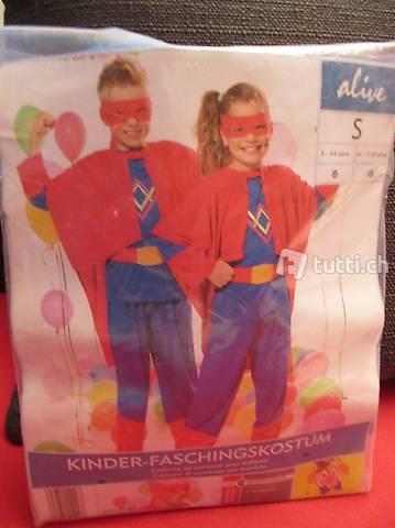 Neues Kinder Fastnachtskostüm ? Supermann