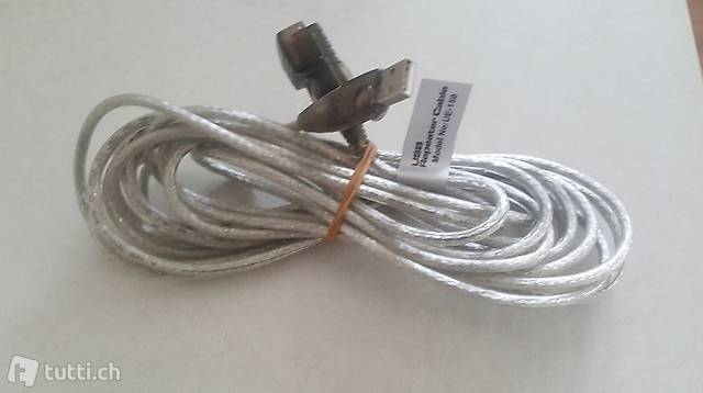 USB Repeater Cable/Verlängerungskabel Model-Nr. UE-150