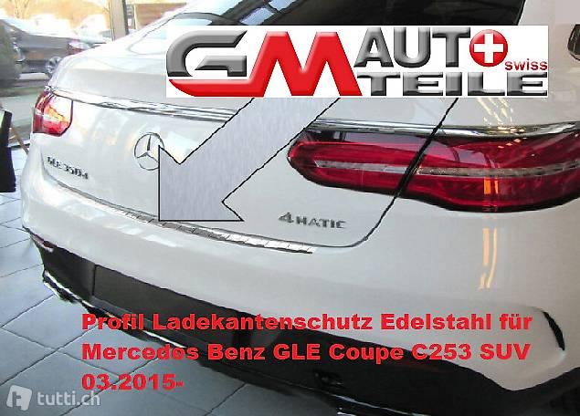 Profil Ladekantenschutz Edelstahl für Mercedes Benz GLE Coup