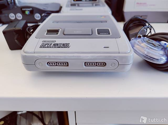 Super Nintendo SNES Konsole