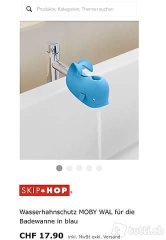 Skip Hop Badewal - Badespass - Spielzeug - Walfisch - Schutz