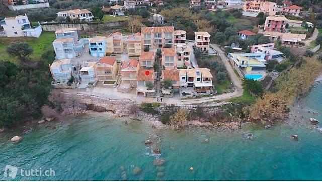 Haus ganz vorne  am Strand  /Insel Lefkada Griechenland