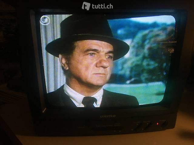 Lagerverkauf 26 cm Bildröhren Farb TV United UTV 7000 grau