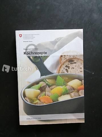 Kochbuch Kochrezepte Schweizer Armee