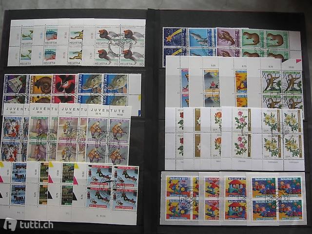 Pro Juventute und Patriasammlung bis 2006 Briefmarken