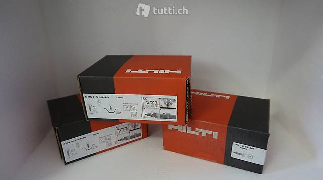 Hilti-Schrauben für Ihr Bauunternehmen benötigt