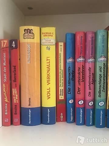 Diverse Bücher von Thomas Brezina für Mädchen und Jungs