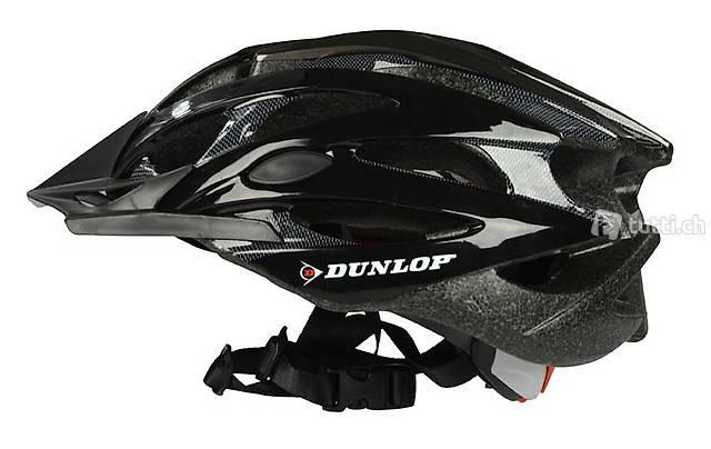 MTB Helm von Dunlop Grösse S schwarz (Gratis Lieferung)