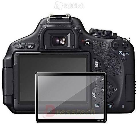 Portofrei Protector Bildschirm für Canon 550D Glass LCD Scre